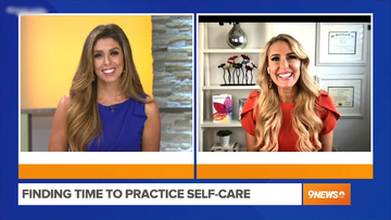 Finding Time to Practice Self-Care – Heather Hans 9NEWS Denver