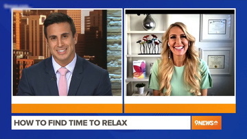How to Find Time to Relax – Heather Hans 9NEWS Denver