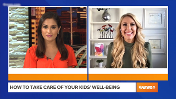 How to Take Care of Your Kids' Well-Being – Heather Hans 9NEWS Denver